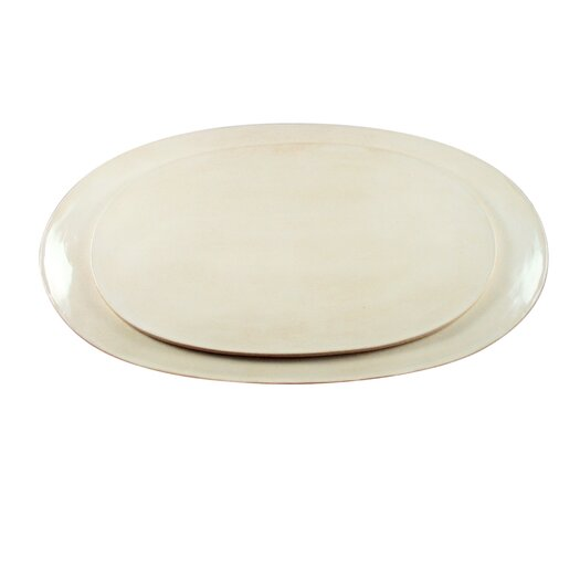 "Canvas Home Seagate 18"" Oval Platter"