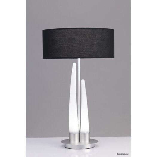 "Contempo Lights Inc Barcelo LED 35"" H Table Lamp with Drum Shade"