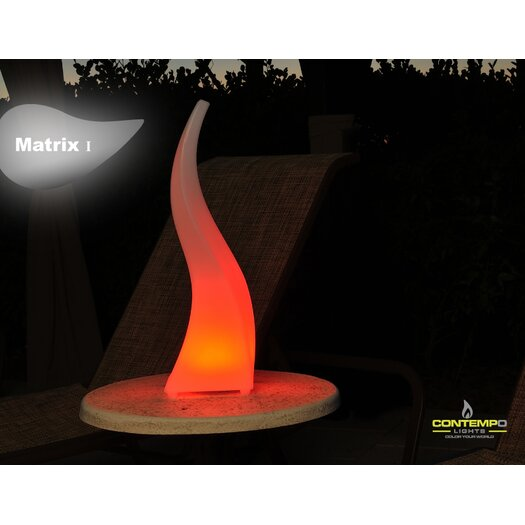 "Contempo Lights Inc LuminArt Matrix LED 22"" H Table Lamp"