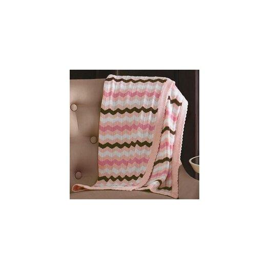 MiGi Pink Blossom Blanket