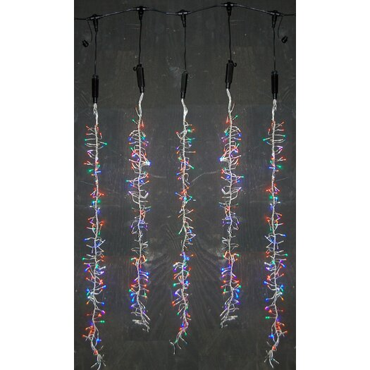 Queens of Christmas Snowfall Blizzard LED String Light