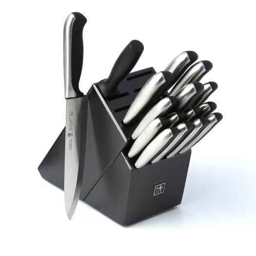 Zwilling JA Henckels International Fine Edge Synergy 17 Piece Cutlery Block Set