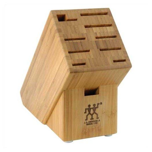 Zwilling JA Henckels Bamboo 10 Slot Knife Block