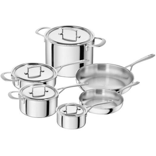 Zwilling JA Henckels Sensation 10-Piece Cookware Set