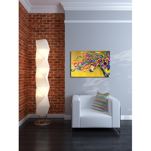 "Maxwell Dickson ""Majestic Horse"" Graphic Art on Canvas"