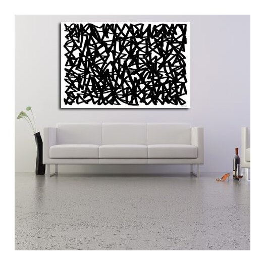 Maxwell Dickson Maze of Life Graphic Art on Canvas