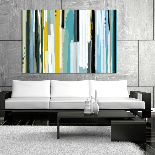 Maxwell Dickson Ocean Painting Print on Canvas