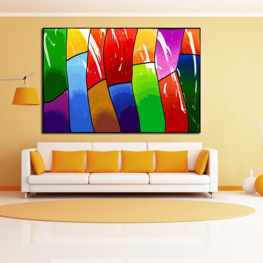 Maxwell Dickson Life Painting Print on Canvas