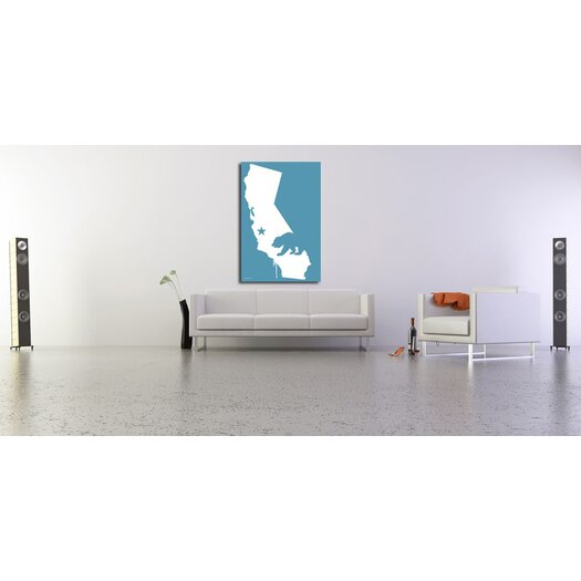 "Maxwell Dickson ""California"" Photographic Prints on Canvas"