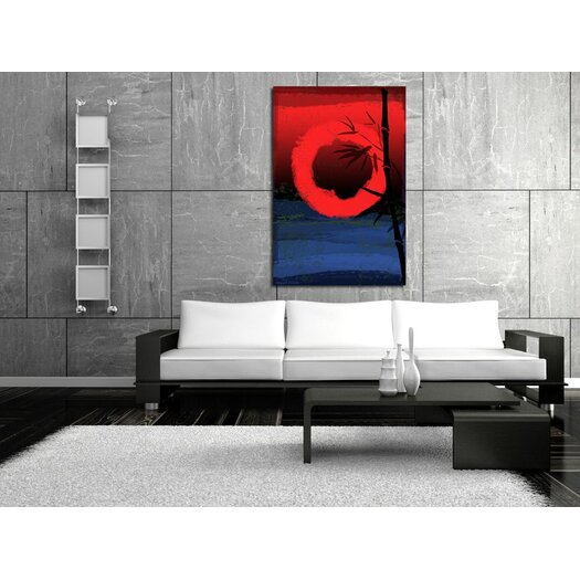 "Maxwell Dickson ""Osaka"" Graphic Art on Canvas"