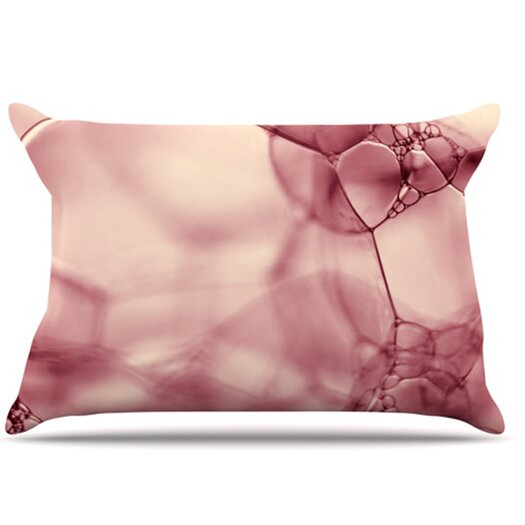 KESS InHouse Bubbles Pillowcase