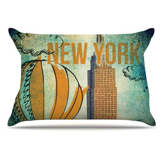 KESS InHouse New York Pillowcase