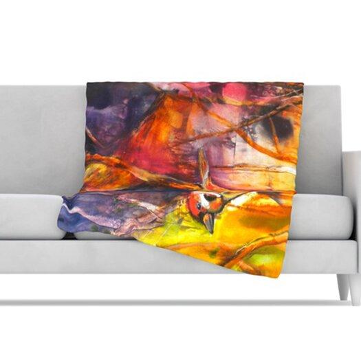 KESS InHouse In Depth Fleece Throw Blanket