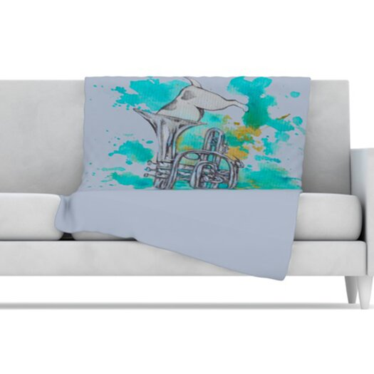 KESS InHouse Hunting for Jazz Fleece Throw Blanket
