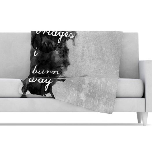 KESS InHouse Bridges Fleece Throw Blanket