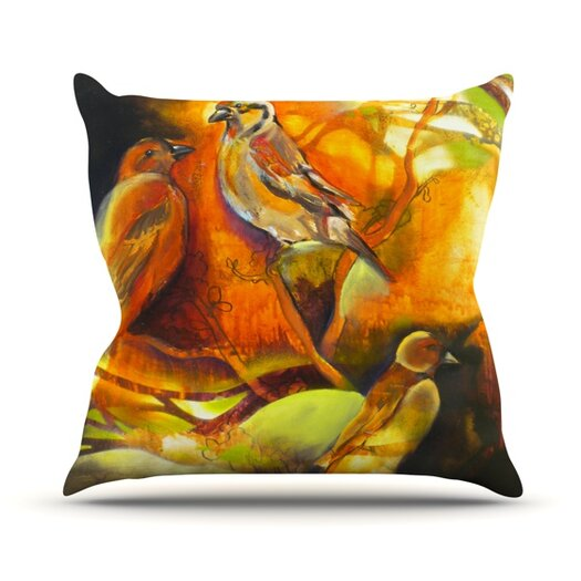 KESS InHouse Reflecting Light Throw Pillow