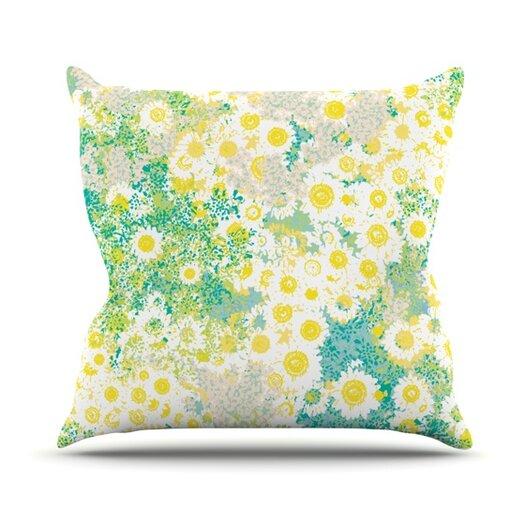 KESS InHouse Myatts Meadow Throw Pillow