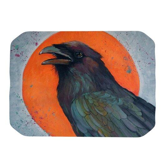 KESS InHouse Raven Sun Placemat