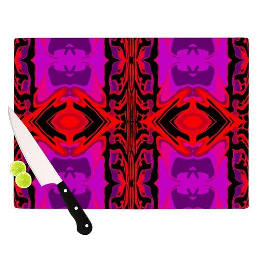 KESS InHouse Ornamena Cutting Board