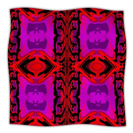 KESS InHouse Ornamena Microfiber Fleece Throw Blanket