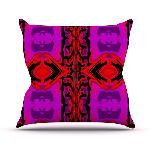 KESS InHouse Ornamena Throw Pillow