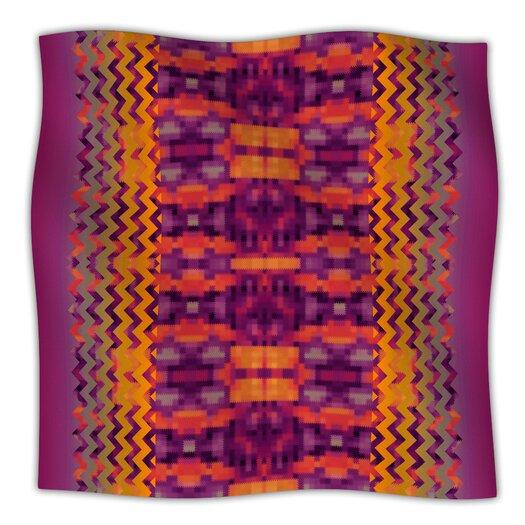 KESS InHouse Medeasetta Microfiber Fleece Throw Blanket