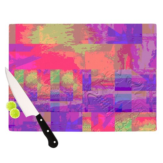 KESS InHouse Embossed Impermenance Cutting Board