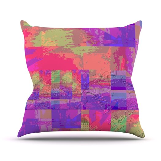 KESS InHouse Embossed Impermenance Throw Pillow
