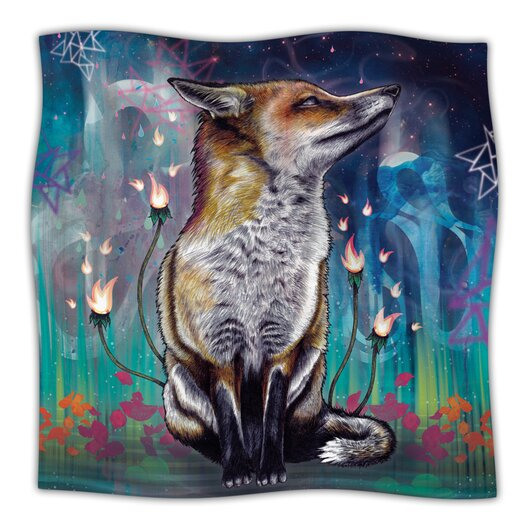 KESS InHouse There Is A Light Microfiber Fleece Throw Blanket