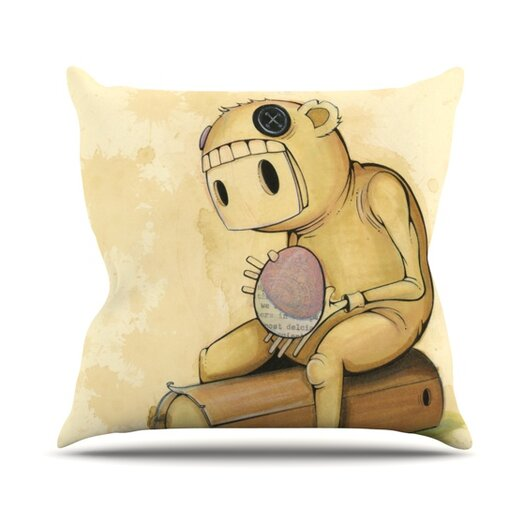 KESS InHouse In All the While Throw Pillow