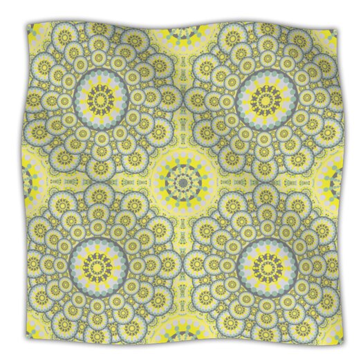 KESS InHouse Multifaceted Microfiber Fleece Throw Blanket