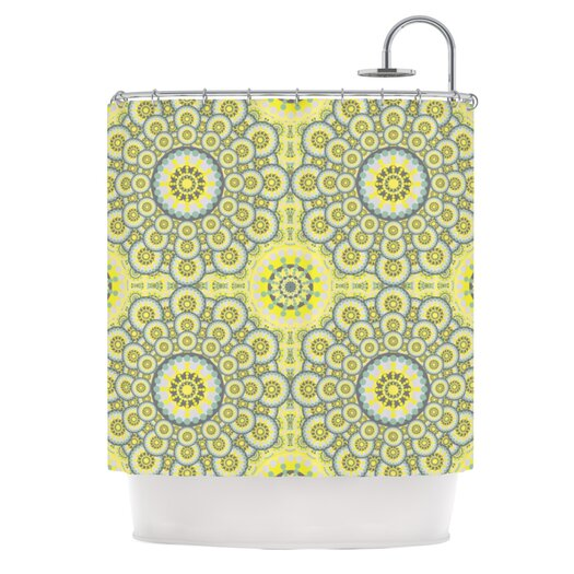KESS InHouse Multifaceted Polyester Shower Curtain