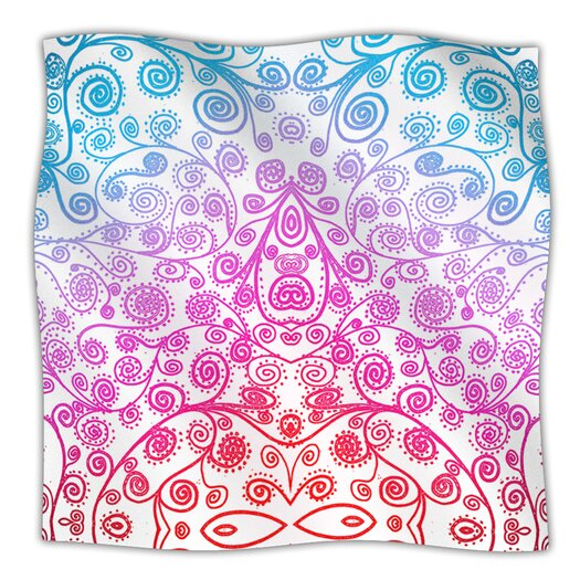 KESS InHouse Safe and Sound Microfiber Fleece Throw Blanket