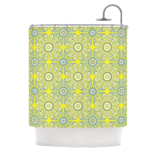 KESS InHouse Budtime Polyester Shower Curtain