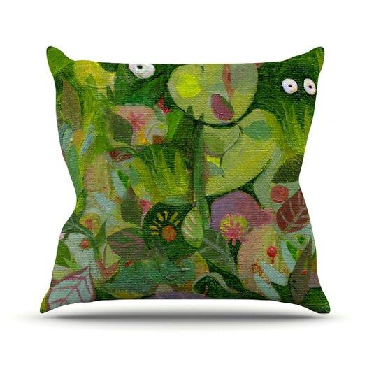 KESS InHouse Jungle Throw Pillow