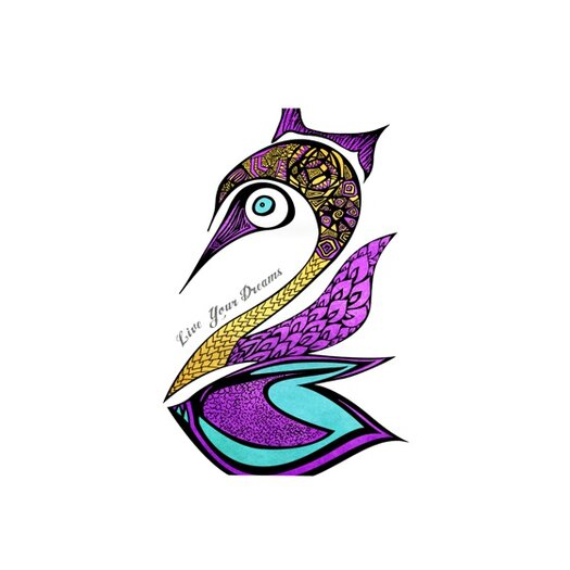 KESS InHouse Dreams Swan Placemat