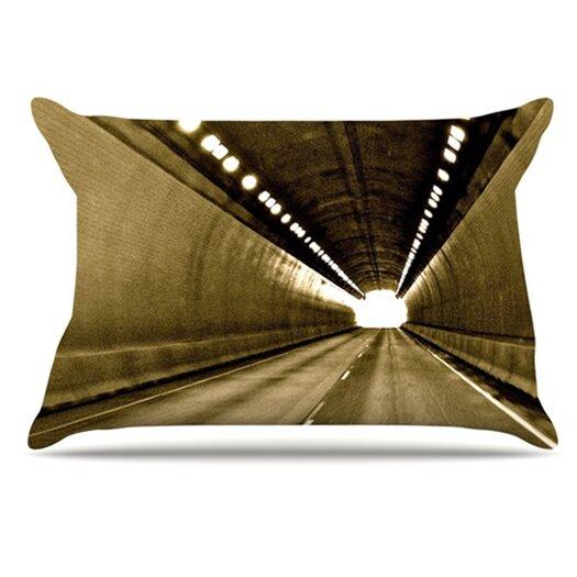 KESS InHouse Tunnel Pillowcase