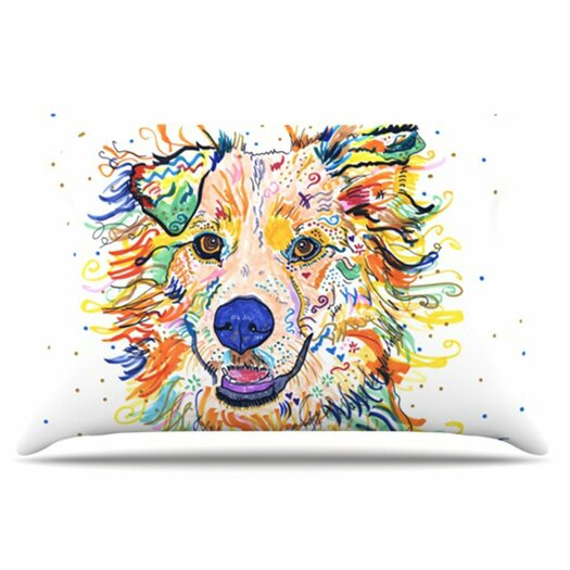 KESS InHouse Jess Pillowcase
