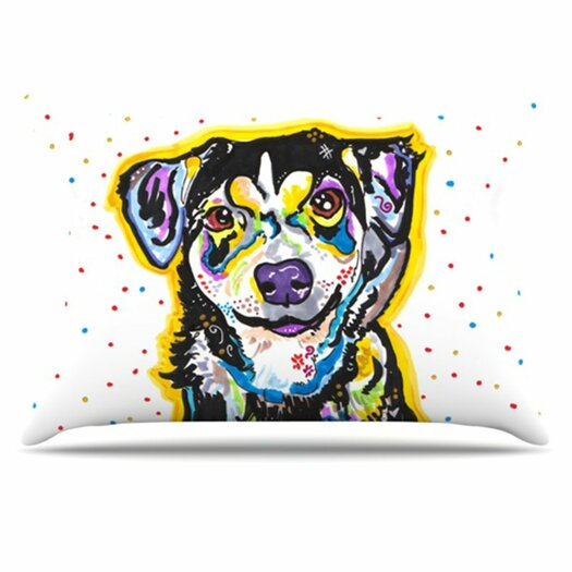 KESS InHouse Jasper Pillowcase