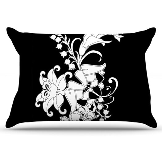 KESS InHouse My Garden Pillowcase