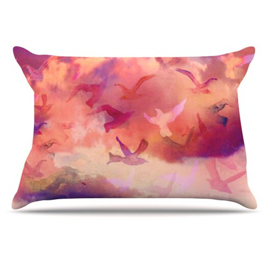 KESS InHouse Souffle Sky Pillowcase