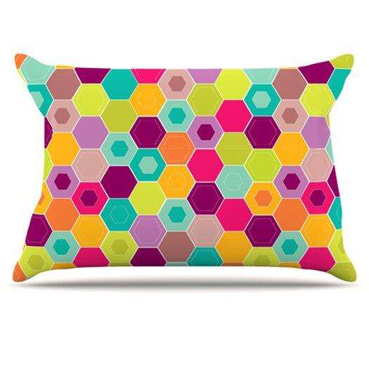 KESS InHouse Arabian Bee Pillowcase