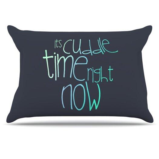 KESS InHouse Cuddle Time Pillowcase