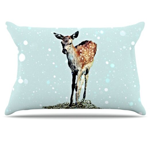 KESS InHouse Fawn Pillowcase