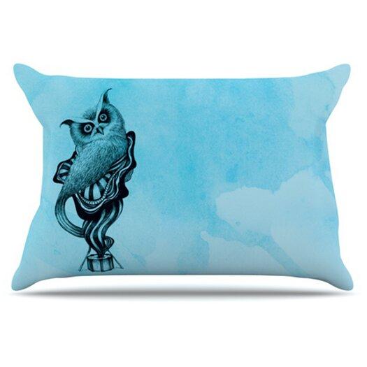 KESS InHouse Owl III Pillowcase