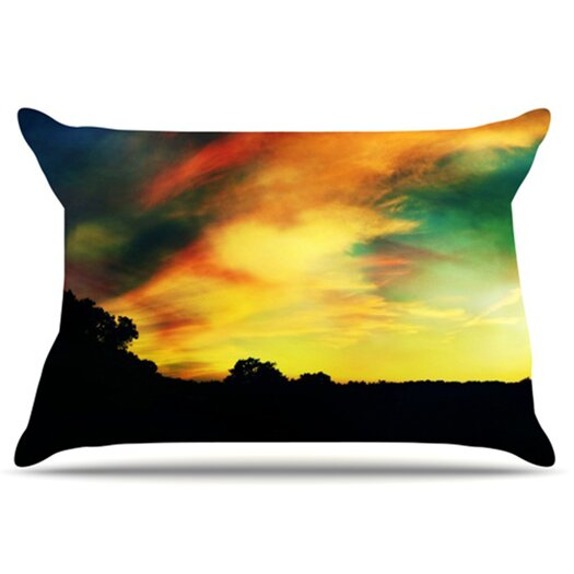 KESS InHouse A Dreamscape Revisited Pillowcase