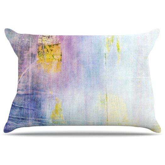KESS InHouse Color Grunge Pillowcase