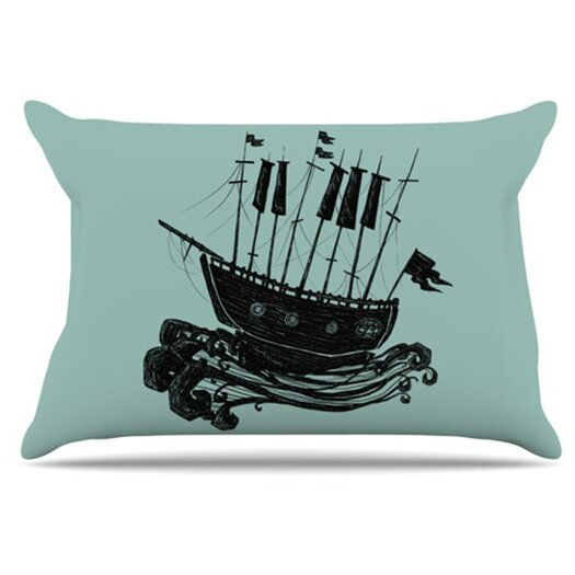 KESS InHouse Ship Pillowcase