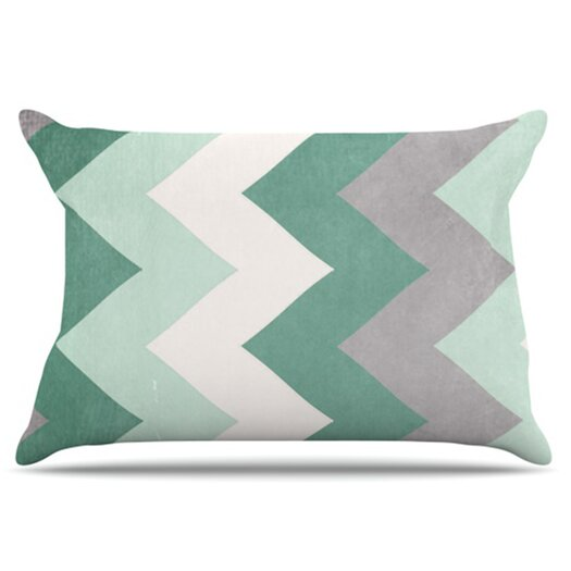 KESS InHouse Winter Pillowcase