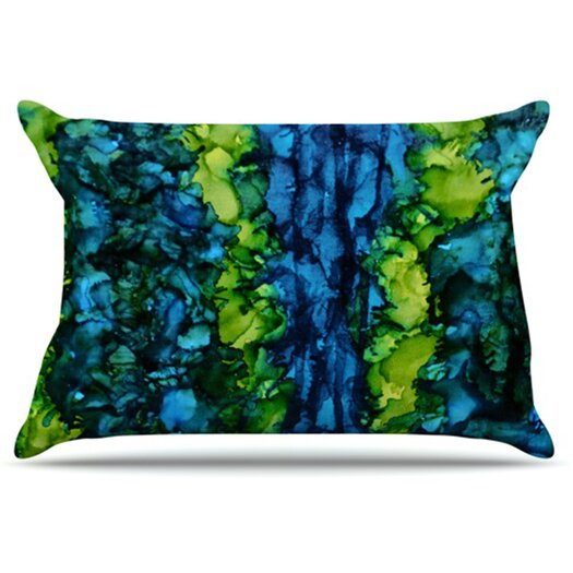 KESS InHouse Drop Pillowcase